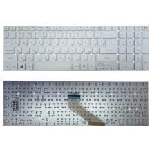 Клавиатура для ноутбука Packard Bell Gateway NV55S NV57H NV75S TS11TS45 белая