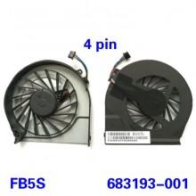 Вентилятор, кулер для ноутбука HP Pavilion G6-2000 G6-2054er G6-2100