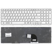 Клавиатура для ноутбука Sony Vaio SVE15 SVE1511V1R (белая)